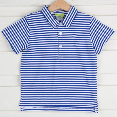 Knit Stripe Polo