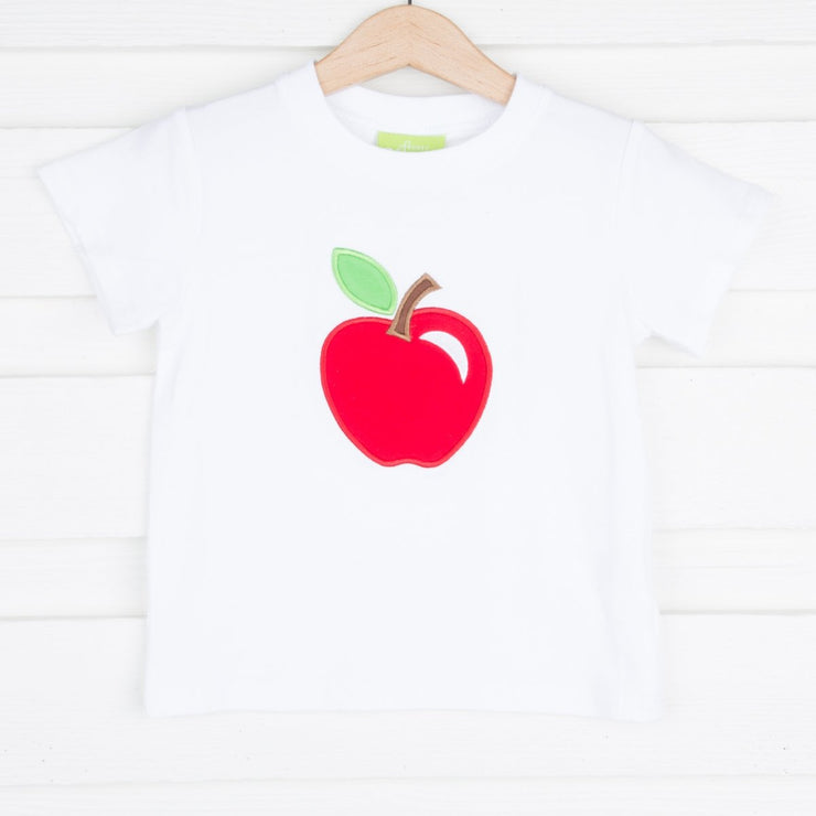 Knit White Apple Shirt