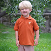 Longhorn Short Sleeve Polo
