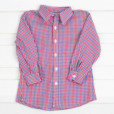 Patriotic Button Down Shirt