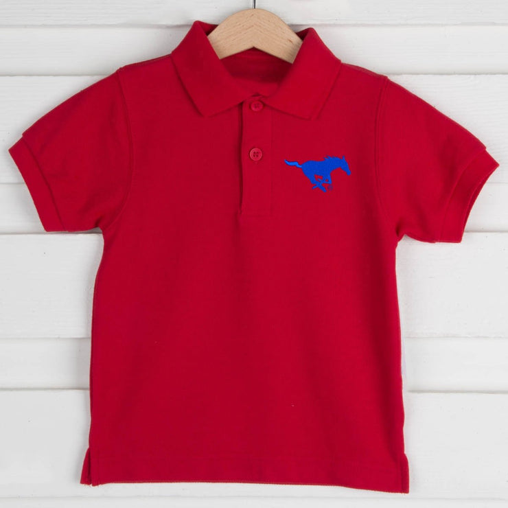 SMU Short Sleeve Polo