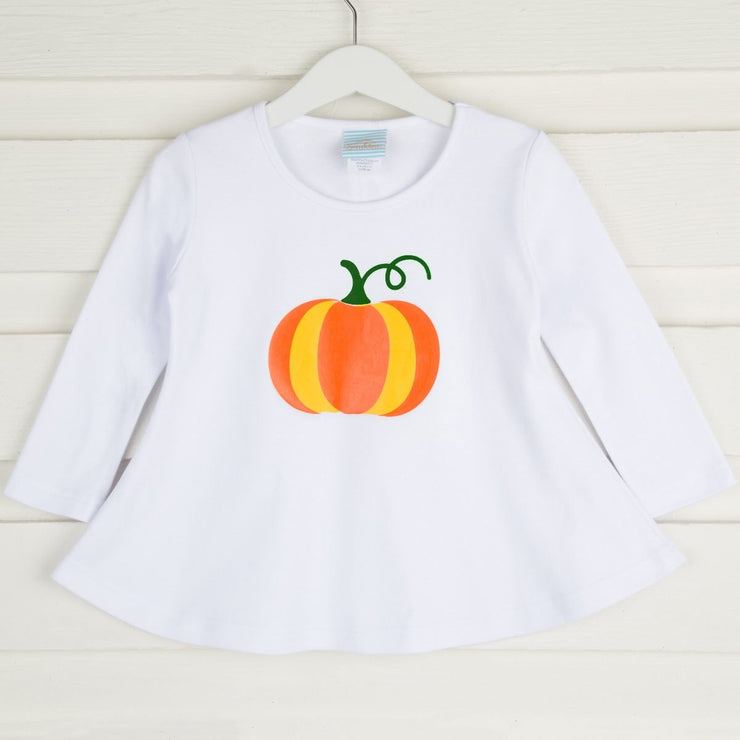 Vinyl Pumpkin Tunic White