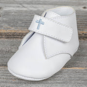 Boy Patent Leather Monogrammable Crib Shoe