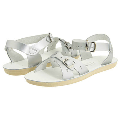 Silver Sweetheart Sandals