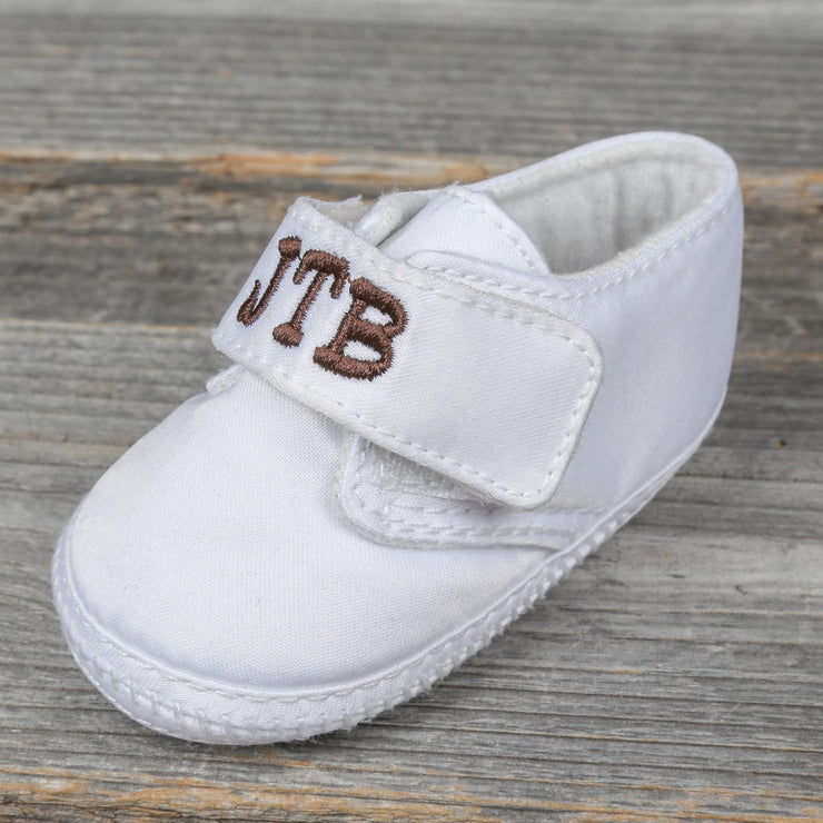Unisex Monogrammable Crib Shoe