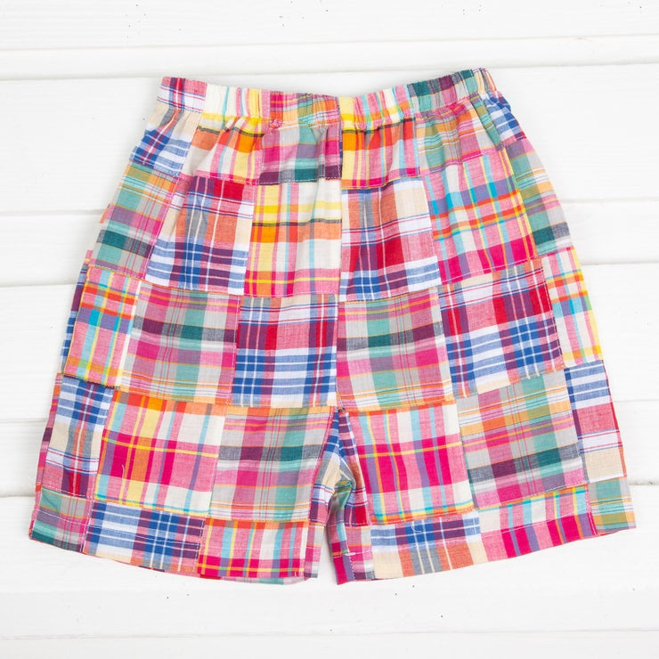 Primary Madras Shorts