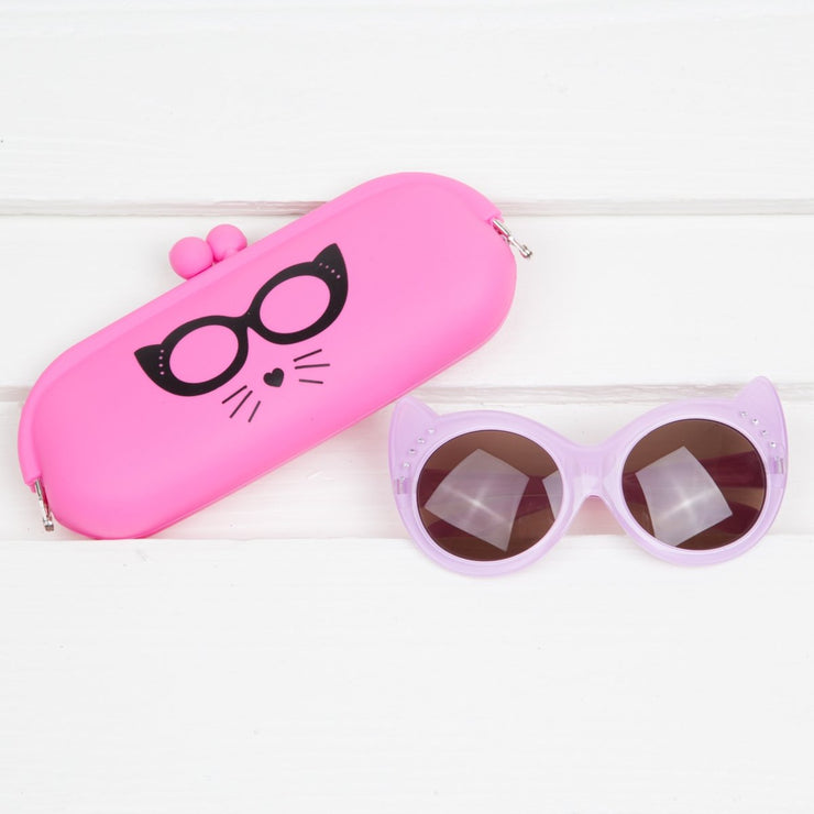 Cat Sunglasses and Case