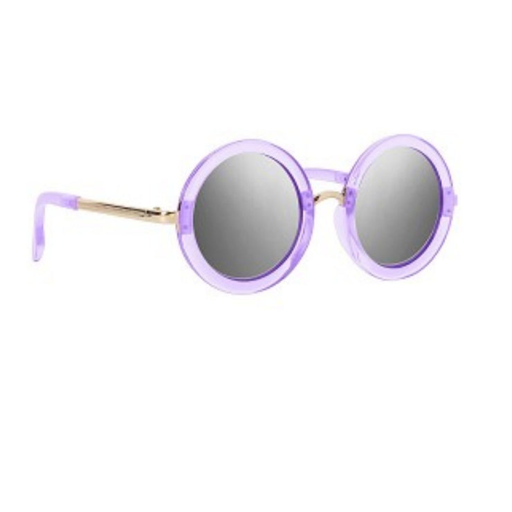 Translucent Round Sunglasses