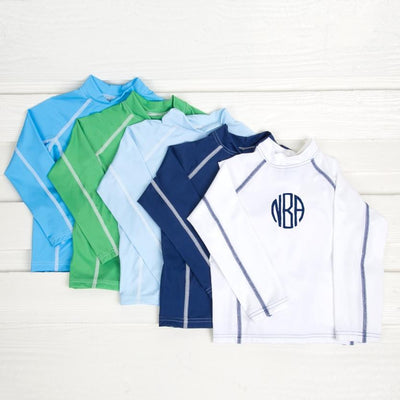 Long Sleeve Boys Rash Guard