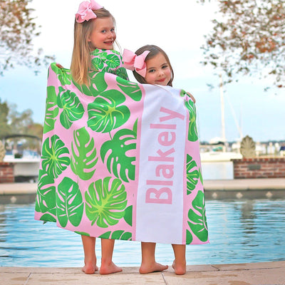 Personalized Palm Print Towel