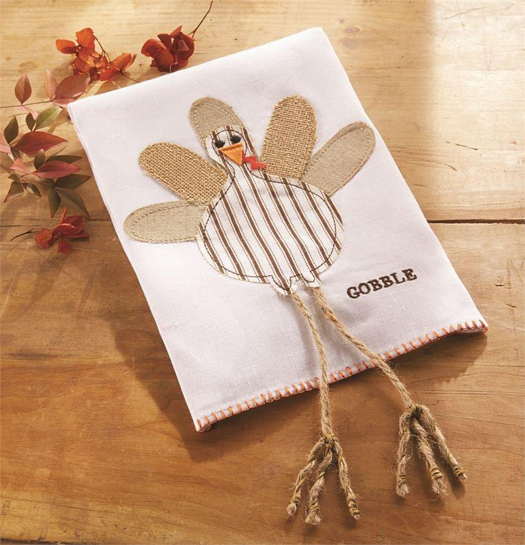 Turkey Ticking Linen Towel