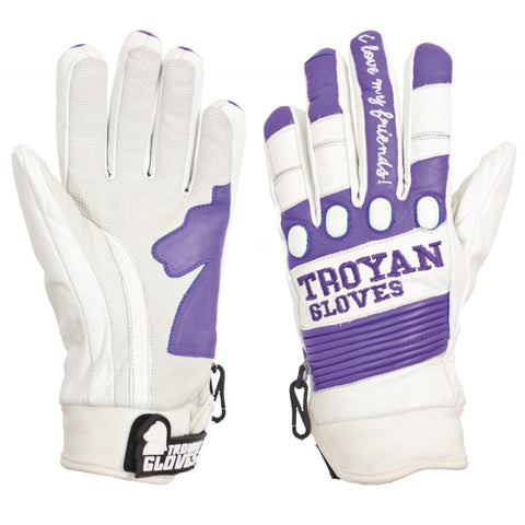Troyan T4 Shorty Ladies WHT/PURP DBH1-1