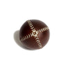 Lemon Ball Baseball Brown with White Stitching, back