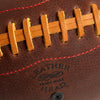 "Leather Head Sports ""Handsome Dan"" Football, detail"