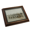 Old Timey Framed Football Photo, three quarter