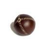 Lemon Ball Baseball Brown with White Stitching, side