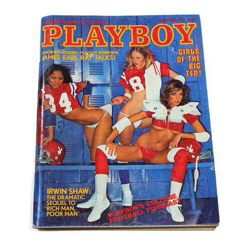 Vintage Playboy Magazine: Big 10