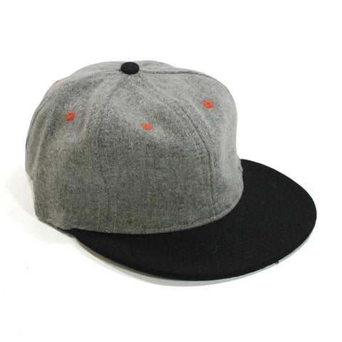Spikes High Grey/Black Contrast Ball Cap
