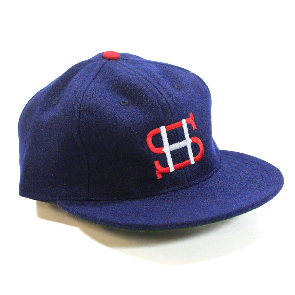 Made in USA Fitted Ball Cap by Cooperstown Cap Co for Spikes High