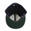 Made in USA Fitted Ball Cap by Cooperstown Cap Co for Spikes High, inside detail