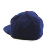 Made in USA Fitted Ball Cap by Cooperstown Cap Co for Spikes High, back detail