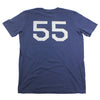 "The made in USA ""Spikes High 55"" T-shirt by Spikes High, back"