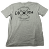 Caught Ya Lookin' Spikes High x Balansa Korea Tee Grey, back