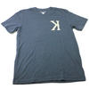 """Caught Ya Lookin'"" Spikes High x Balansa Korea Tee Navy"