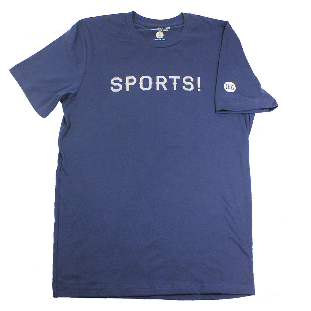 "The made in USA ""SPORTS!"" T-shirt by Spikes High"