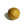 Lemon Head Baseball Tan with Red Stitching, side