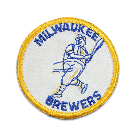 Milwaukee Brewers Vinatge Patch