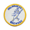 Vintage Milwaukee Brewers patch