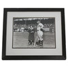 Framed Original Vintage Photograph Print of Jim Thorpe while with the Portland Beavers