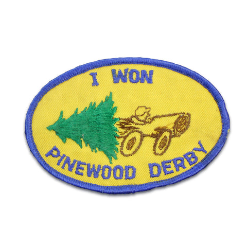 Pinewood Derby Vintage Patch