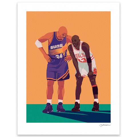 "Ryan Simpson ""Chuck & Mike"" Print"