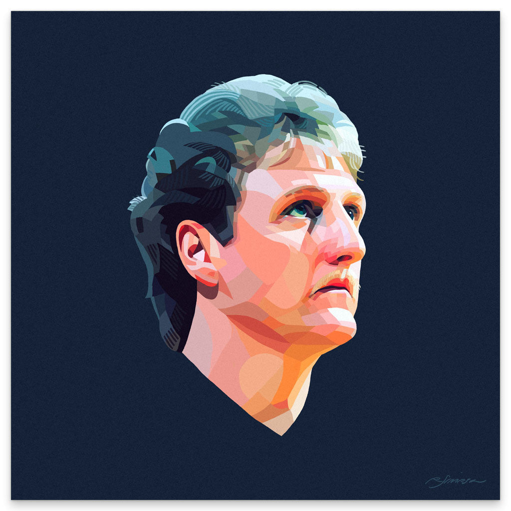 "Ryan Simpson ""Larry Legend"" Print"