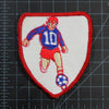 Vintage Soccer Patch Vintage with measurements