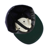 "NYC ""Soccer Time!"" Made in USA Fitted Ball Cap by Cooperstown Cap Co for Spikes High, detail"