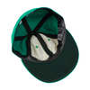 "Portland ""Soccer Time!"" Made in USA Fitted Ball Cap by Cooperstown Cap Co for Spikes High, detail"