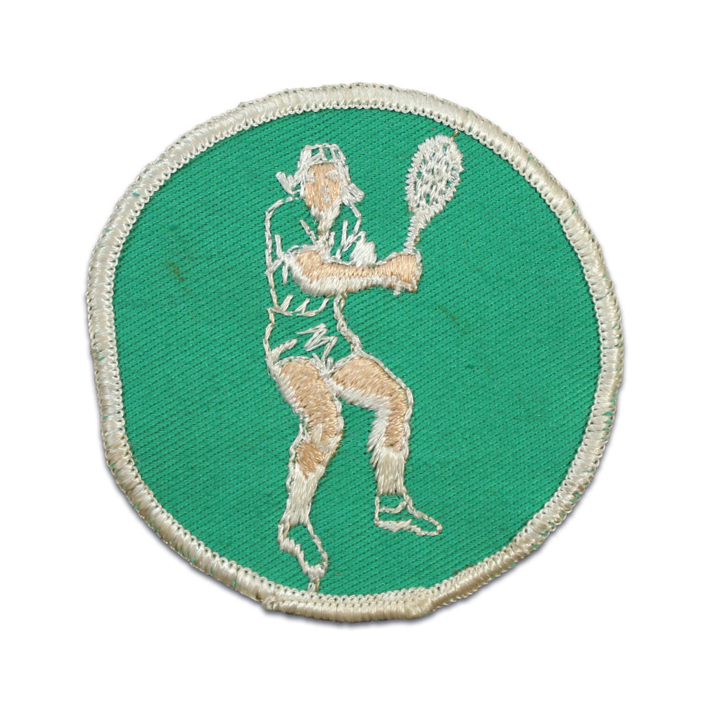 Vintage Tennis Patch