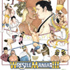 "Ryan Berkley ""Wrestlemania 3"" print detail"