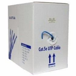 CAT5E UTP BLUE - 305M BOX