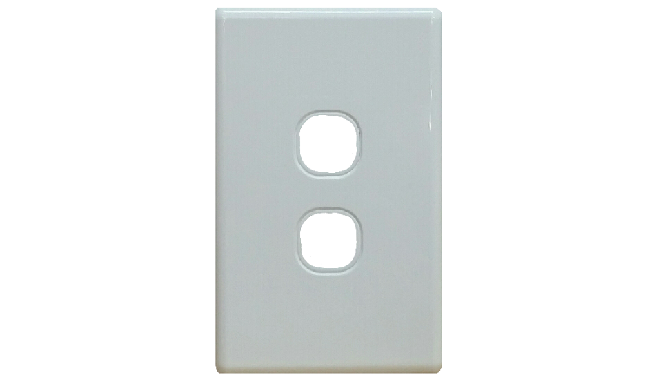 TWO HOLE GRID PLATE