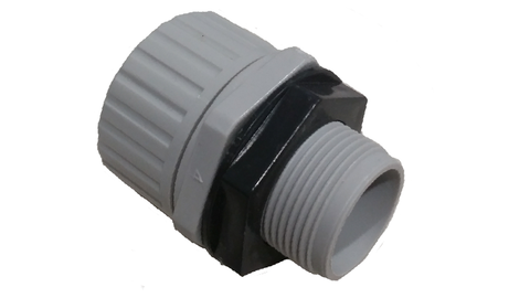 PLAIN TO SCREW FLEXI ADAPTOR & NUT 32MM