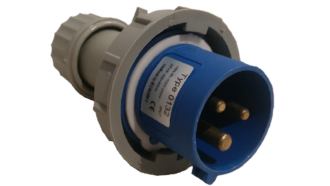 CARAVAN SUPPLY LEAD PLUG - IP44