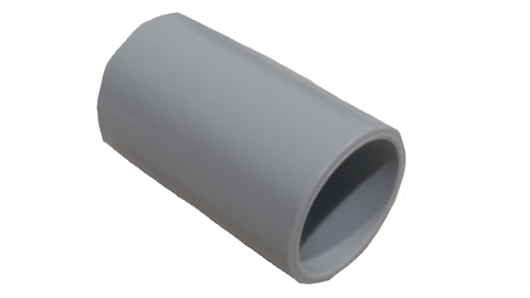 25MM PLAIN COUPLING GREY