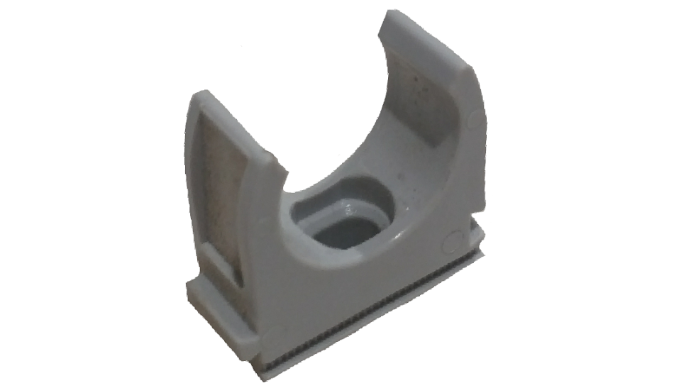 25MM PLASTIC CONDUIT CLIP