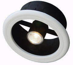 WEISS 150MM EXHAUST FAN LIGHT KIT