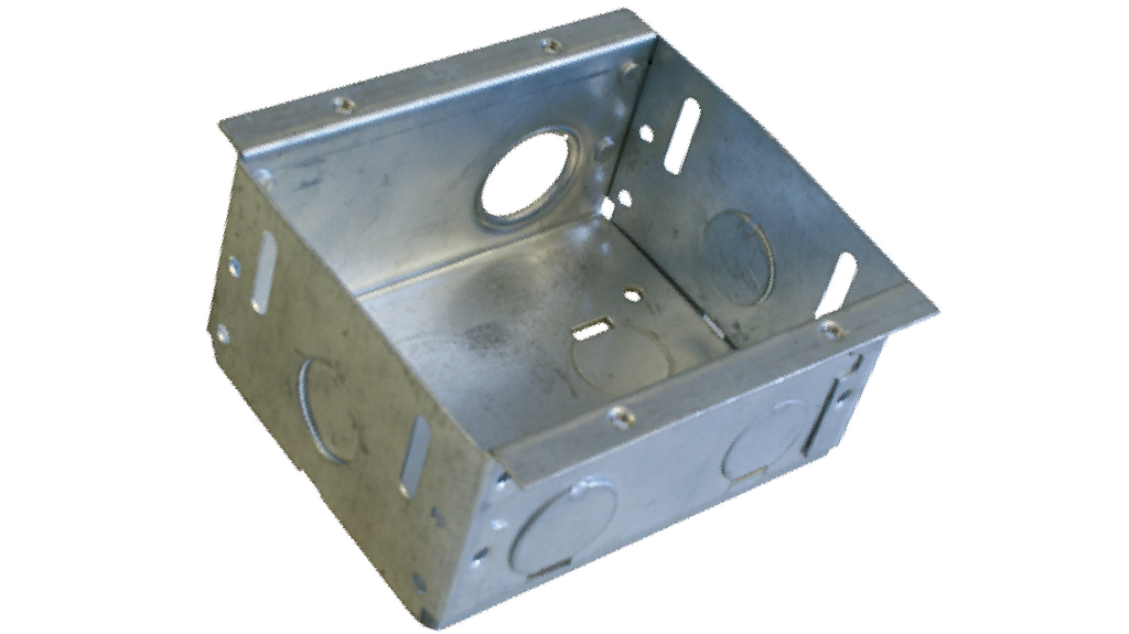 DOUBLE METAL FLUSH BOX