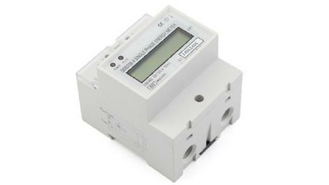 KWH METER DIN MOUNT 230V - 100A DIGITAL